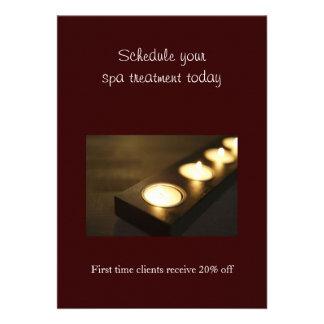 Set of Votive Candles Invite