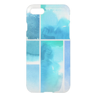Set of watercolor abstract hand painted 2 iPhone 7 case