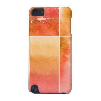 Set of watercolor abstract hand painted 4 iPod touch 5G case