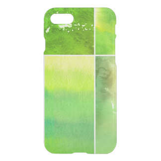 Set of watercolor abstract hand painted iPhone 7 case
