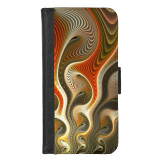 Set Phasers To Stun Abstract iPhone 8/7 Wallet Case