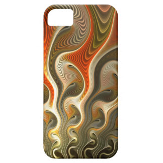 Set Phasers To Stun Abstract Orange Flames iPhone SE/5/5s Case