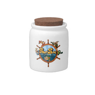 Set sail for a funny tale candy jars