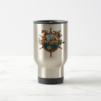 Set sail for a funny tale travel mug