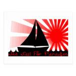 Set Sail For Paradise Postcards