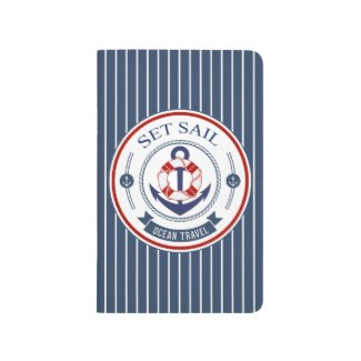 Set Sail Ocean Travel Nautical Journals