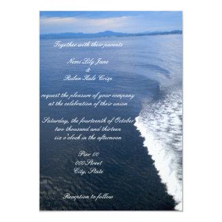 Set Sail Wedding Invitation