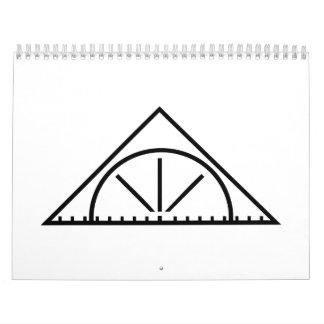 Set square calendar