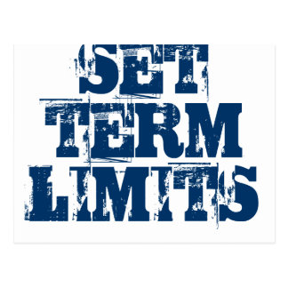 SET TERM LIMITS POSTCARD