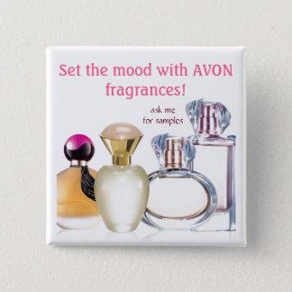 Set the Mood~AVON Fragrances Pinback Button