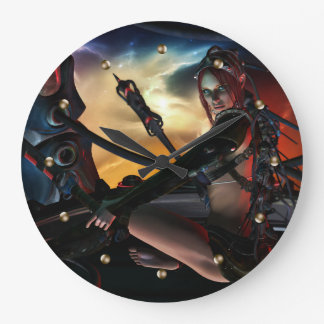 Set the sky on fire Wall Clock