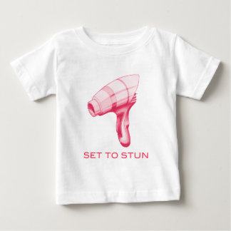 Set To Stun Ray Gun/Phaser Baby T-Shirt