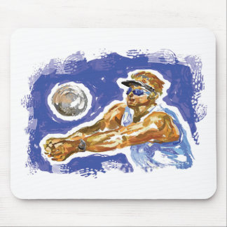 Set Up Volleyball Mouse Pad