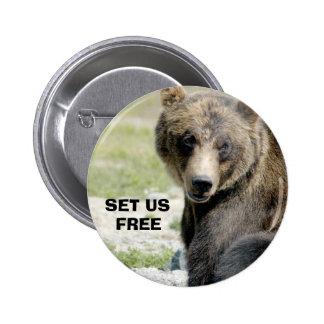 Set Us Free, Save the Bears Pins