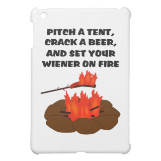 Set Wiener On Fire Cover For The iPad Mini