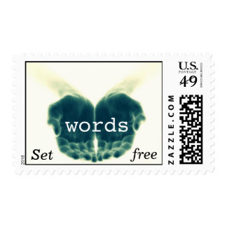"""Set Words Free"" Stamp"