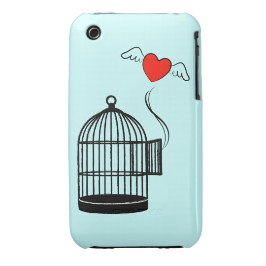 Set your heart free 2 Case-Mate iPhone 3 case