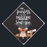 """Set Your Soul On Fire Graduation Cap Topper<br><div class=""""desc"""">Be Fearless in the Pursuit of What Sets Your Soul on Fire!</div>"""