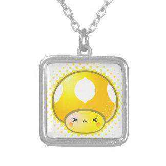 Seta amarga del limón de Kawaii Collar Personalizado