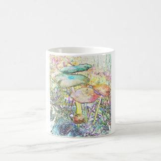 Seta del arco iris taza de café