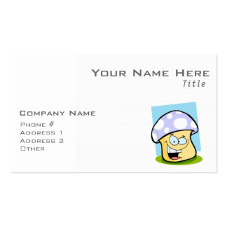 Seta del azul de la lavanda plantilla de tarjeta personal