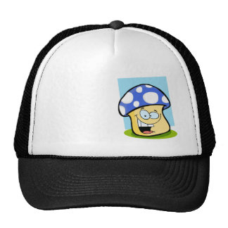 Seta del azul real gorra