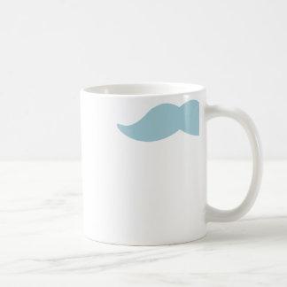 Seta del bigote tazas de café