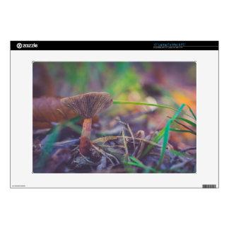 """Seta del bosque 15"""" ordenador portátil para el mac 38,1cm portátil calcomanía"""
