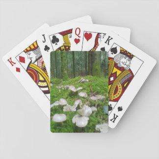 Seta del bosque cartas de juego