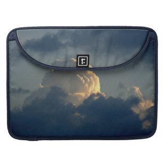 Seta del cielo funda para macbook pro