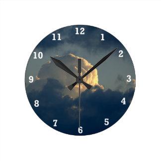 Seta del cielo relojes de pared