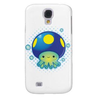 Seta del pulpo de Kawaii Funda Para Galaxy S4