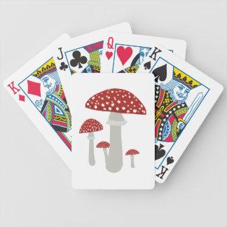 Seta del vintage baraja de cartas