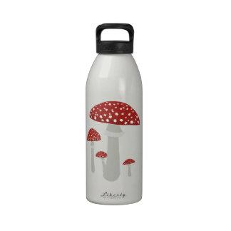 Seta del vintage botella de agua reutilizable
