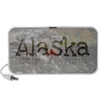 Seta en un banco rocoso; Recuerdo de Alaska Mini Altavoces