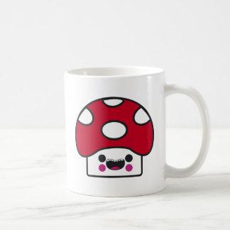 Seta feliz taza de café