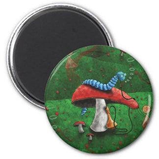 Seta mágica imán redondo 5 cm