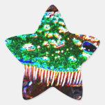 Seta mágica pegatinas forma de estrella personalizadas