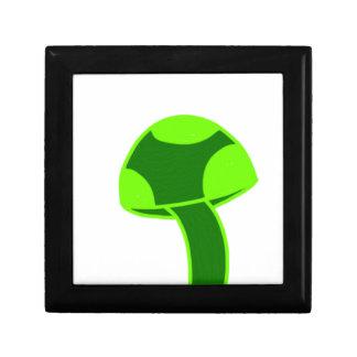 Seta manchada verde cajas de regalo