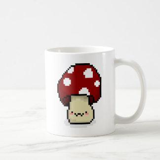 Seta roja taza de café