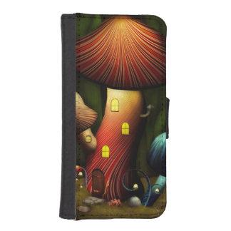 Seta - seta mágica fundas billetera para teléfono