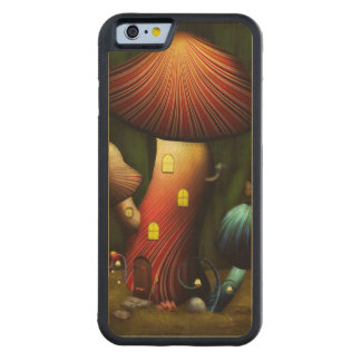 Seta - seta mágica funda de iPhone 6 bumper arce
