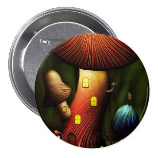 Seta - seta mágica pin redondo 7 cm