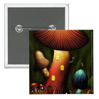 Seta - seta mágica pin cuadrada 5 cm