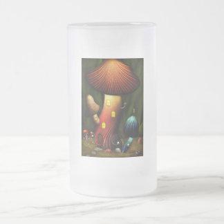 Seta - seta mágica taza de cristal