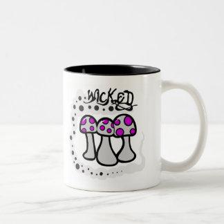Seta traviesa tazas de café