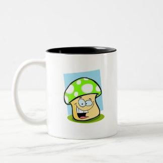 Seta verde chartreuse, de neón tazas de café