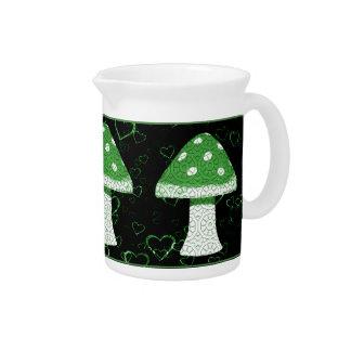 Seta verde jarra