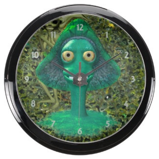 Seta y duendecillo de mueca espeluznantes relojes aquavista