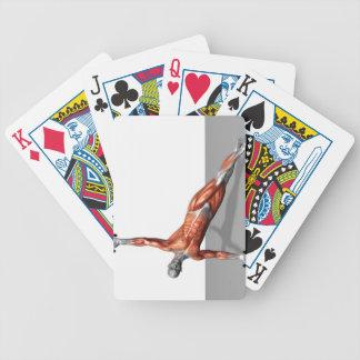 Setanta empuja hacia arriba 2 baraja de cartas